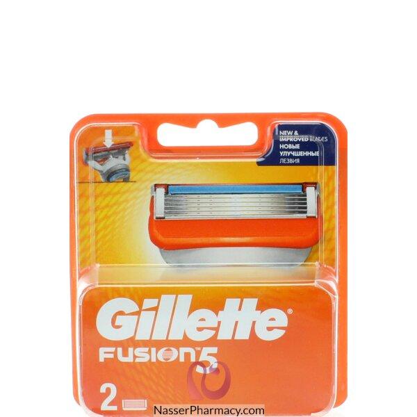 جيليت فيوجن 5 غيار شفرات الحلاقة - 2 قطعة