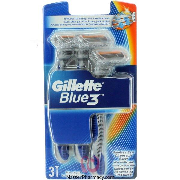 Gillette Blue 3 Disposable Razors 3
