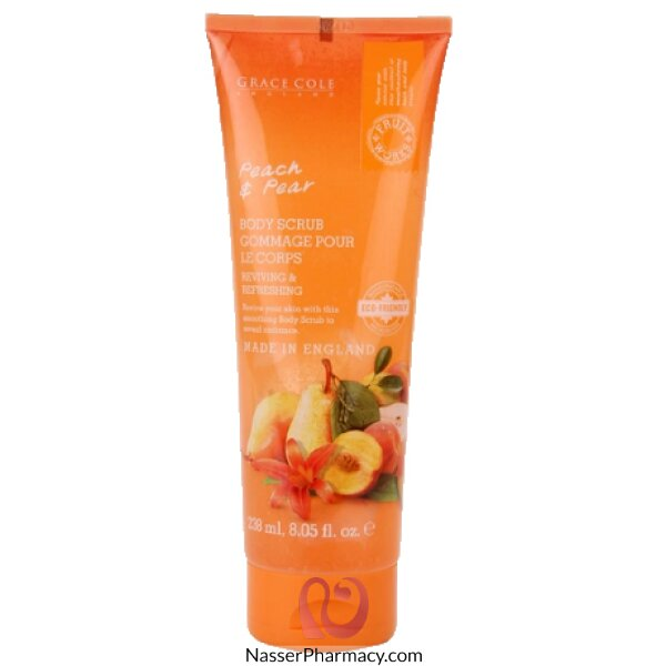 Fruit Works Body Scrub Peach & Pear 238ml