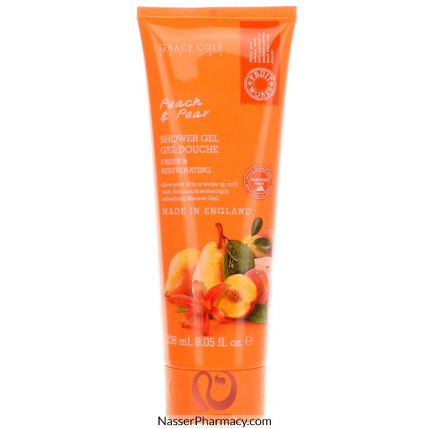 Fruit Works Shower Gel Peach +peear 238ml-63785