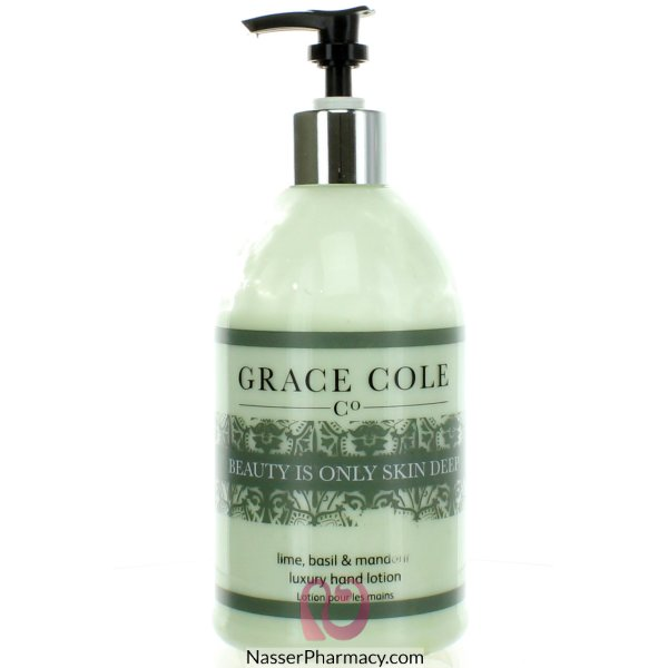 Gc Hand Lotion Lime,basil & Mandarin-luxury Range 500ml