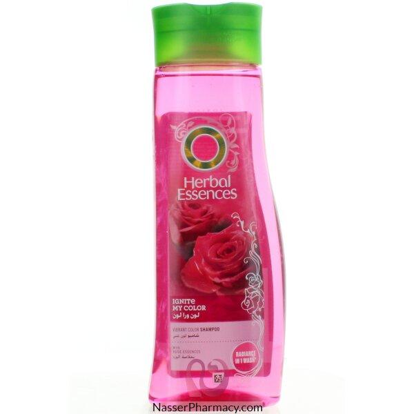هيربال اسنسز Herbal Essences   شامبو لون غني بخلاصة الورد 400 مل