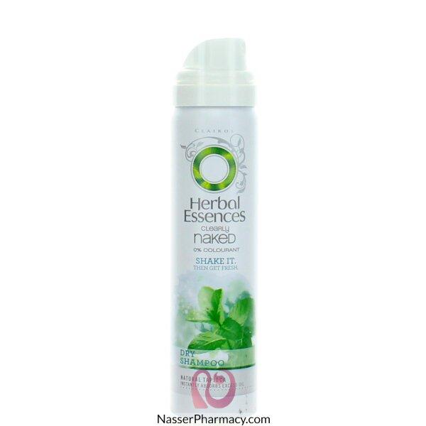 هيربل اسنسز Herbal Essences Naked  شامبو للشعرالدهنى 65 مل