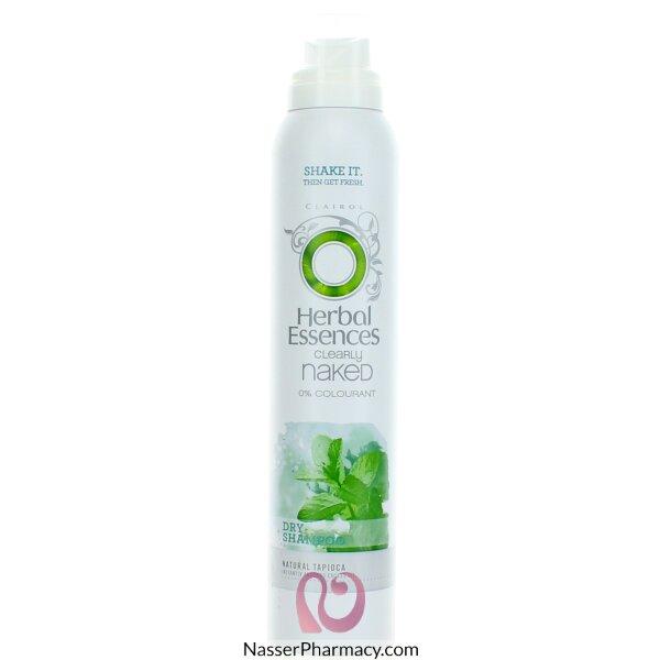 هيربل اسنسز Herbal Essences Naked  شامبو للشعر الدهنى 180 مل