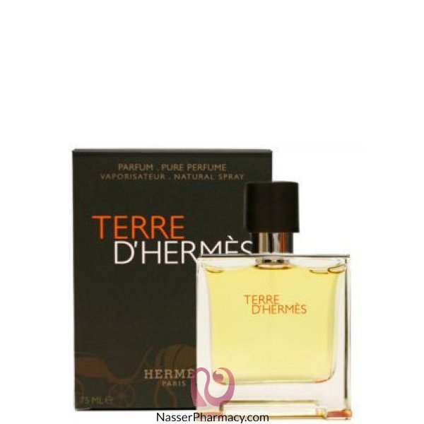 هيرميس Terre D`hermes Parfum Hermes للرجال - 75 مل