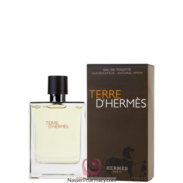 Hermes Terre D`hermes Eau De Toilette For Men - 100 Ml