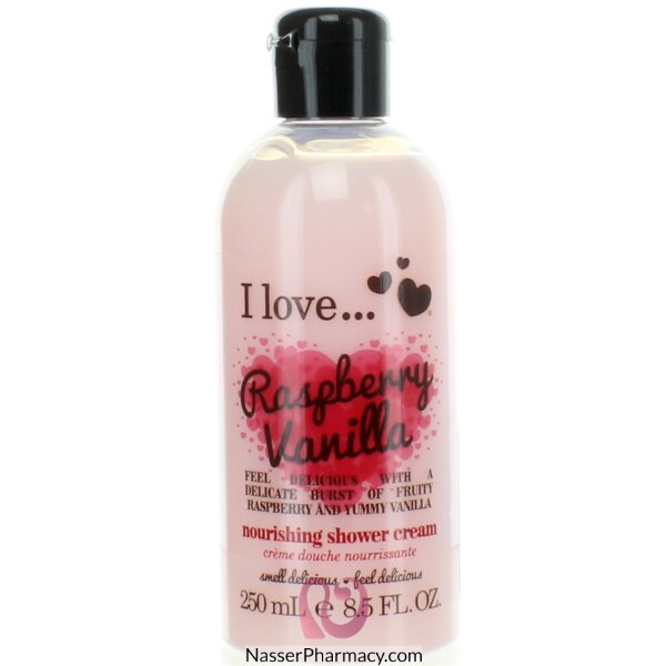I Love Showr Cream Raspberry Vanilla 250ml