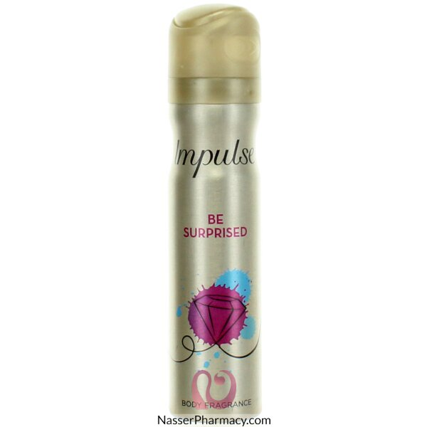 Impulse Body Spray Be Surprised - 75 Ml