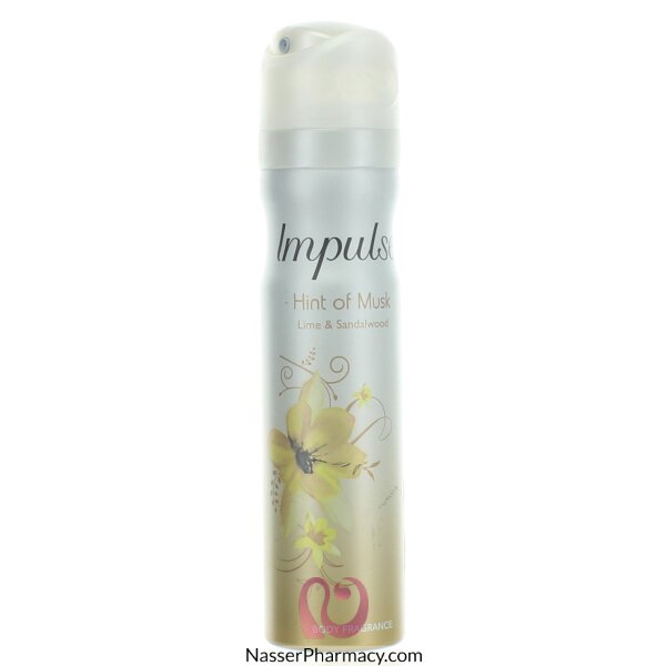 Impulse Body Spray Hint Of Musk - 75 Ml