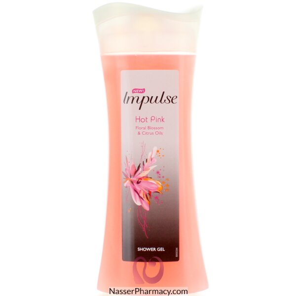 Impulse Shower Gel Pink 250ml