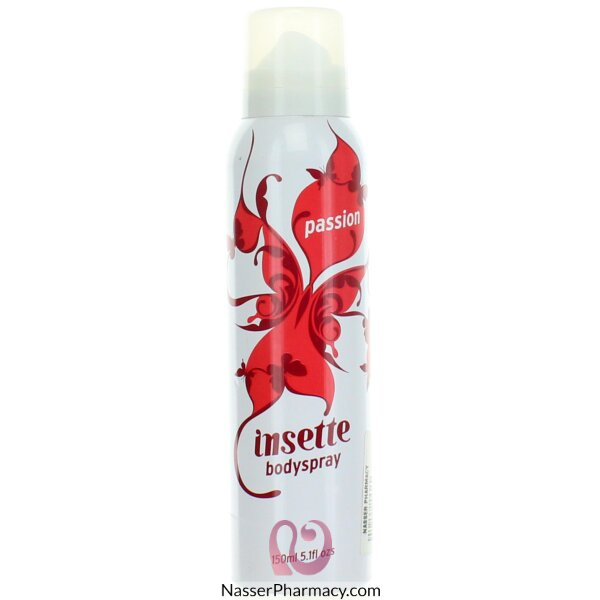 Insette  Body Spray Passion 150ml