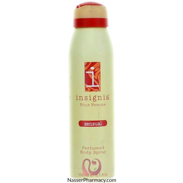 Insignia (e) Femme B/spray Sensual 150ml-31558
