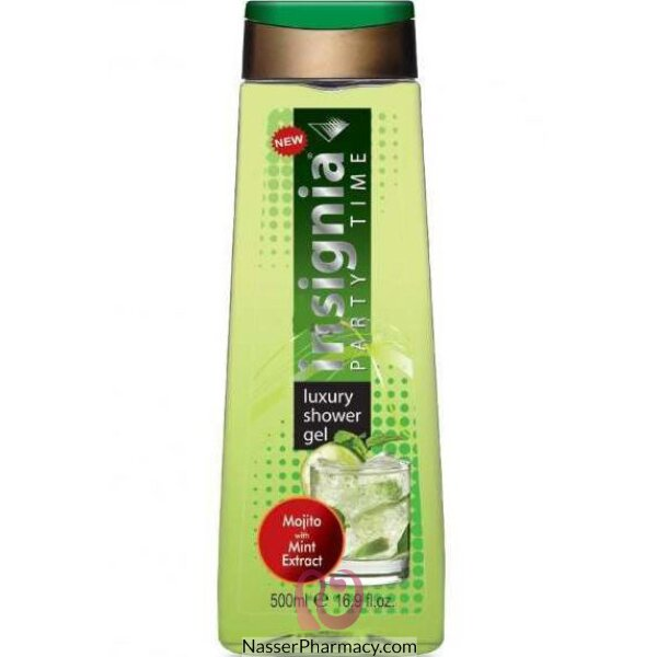 Insignia Shower Gel Mojito With Mint 500ml