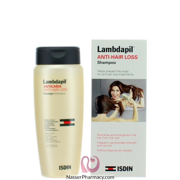 Isdin Lambdapil Anti-hair Loss Shampoo 200ml