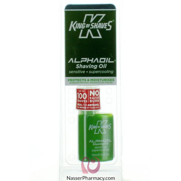 King Of Shaves Alpha Oil Sensi Super Cooling 15ml
