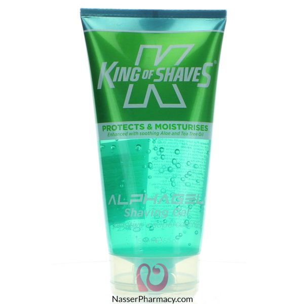 King Of Shaves (e) Alpha Cooling Gel M Thol 150ml-14960
