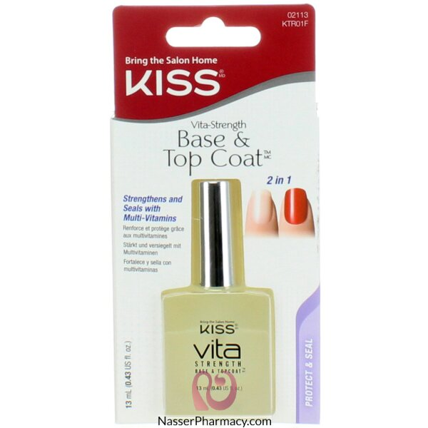 كيس  Kiss   Base & Top Coat