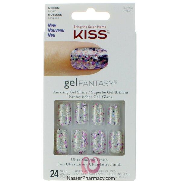 Kiss أظافر صناعية Gel Fantasy