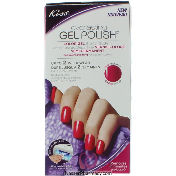 Kiss Everlasting Gel Polish Color Starter System