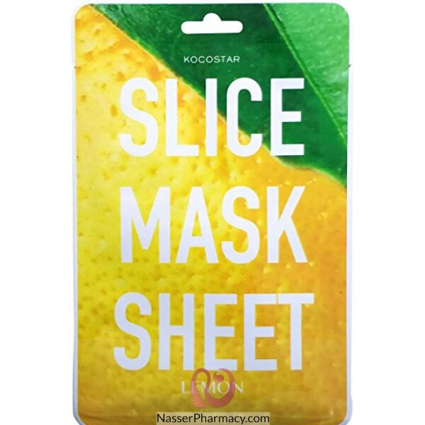 Kocostar Lemon Slice Mask Sheet 20ml