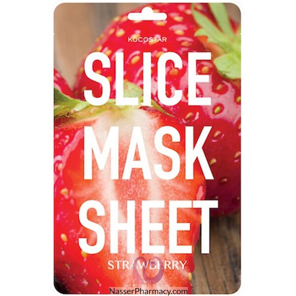 Kocostar Strawberry Slice Mask Sheet 20ml