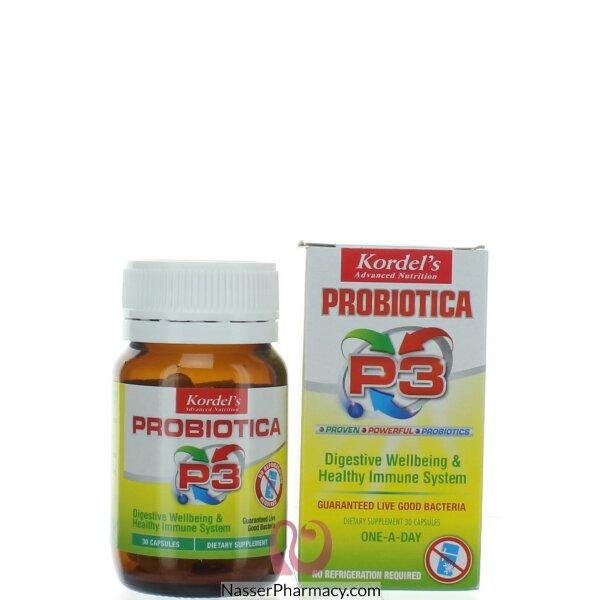 Kordels Probiotica P3 Capsules 30 S