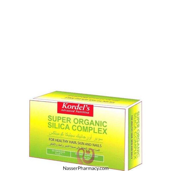 Kordels Super Organic Silica Cap 30&#39s