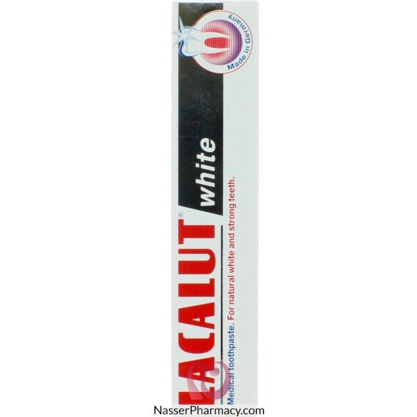 لاكالوت Lacalut  معجون مبيض للأسنان 75 مل