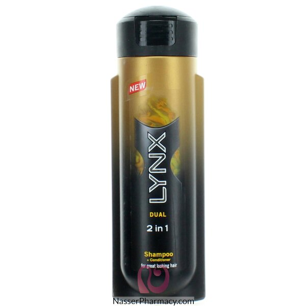 Lynx Hair Shampoo 2in1 Dual 200 Ml