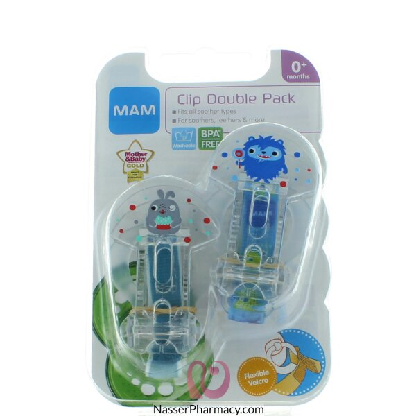 Mam Soother Clip Twin Pack