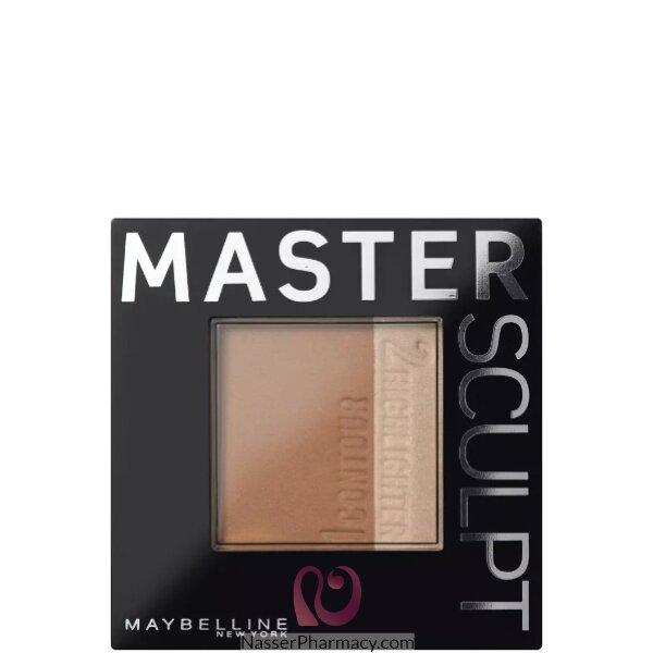 مايبيلين نيويورك Maybelline New York بودرة كونتور الوجه Master Sculpt Contouring درجة من الفاتح  للوسط 01 Light/medium