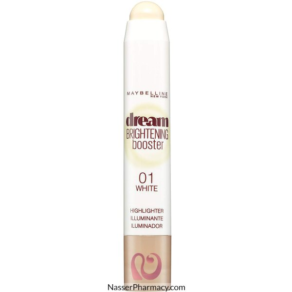 مايبيلين نيويورك Maybelline New York  كونسيلر خافي للعيوب كريمي دريم برايتنج  Dream Brightening درجة  01 White