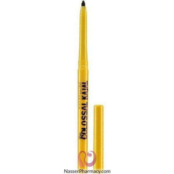 ميبلين Maybelline قلم كحل كولوسال كاجال - لون أسود نوار