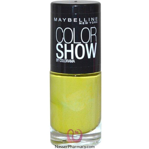 ميبيلين طلاء أظافر Color Show- لون  754 Pow Green C