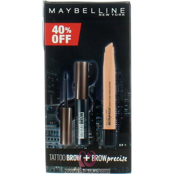 Mayb  Brow Tattoo+brow Highlighter @40% Off