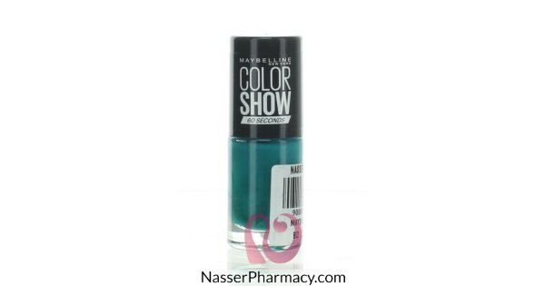 buy maybelline color show nail polish 120 urban turquoise from