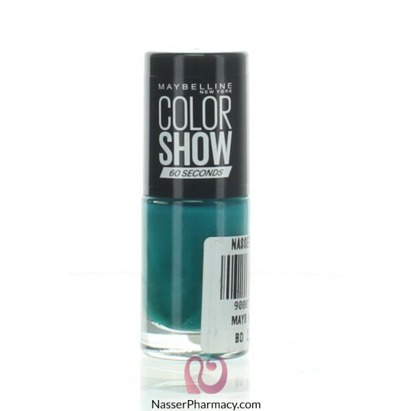 Maybelline Color Show Nail Polish- 120 Urban Turquoise