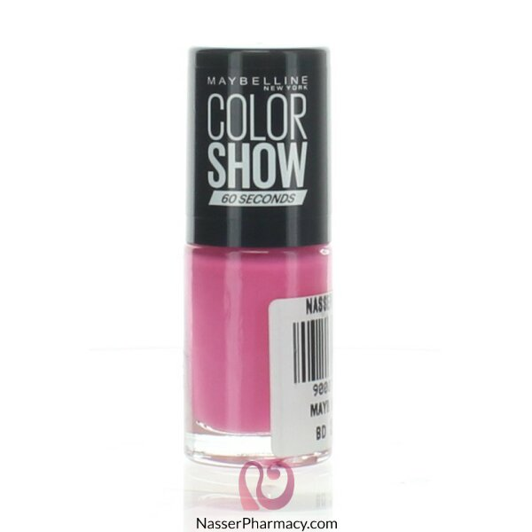 Maybelline Color Show Nail Polish -  262 Pink Boom C
