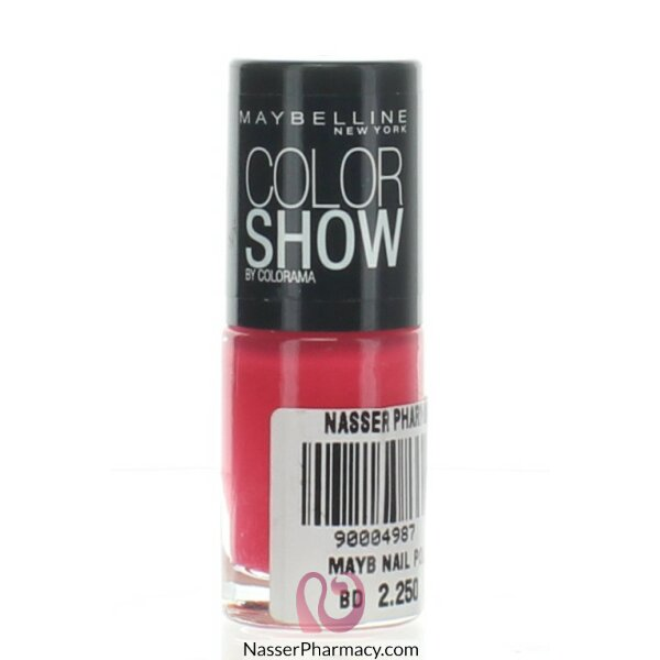 Maybelline Color Show Nail Polish -428 Vivid Rose