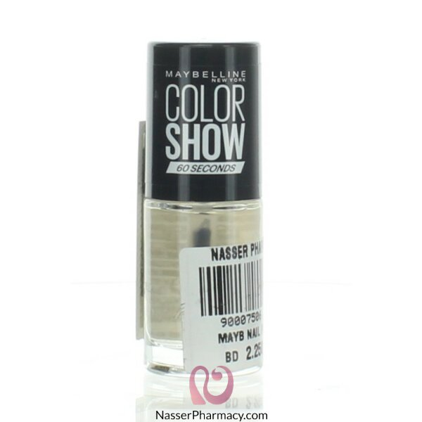 Maybelline Color Show Nail Polish -  649 Cle Shine C