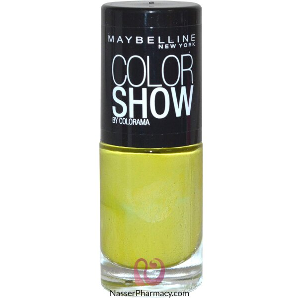 Maybelline Color Show Nail Polish -  754 Pow Green C