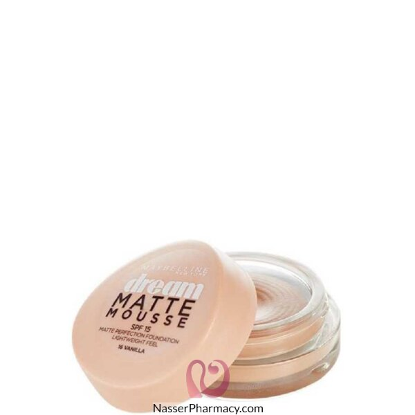 Maybelline Dream Liquid Mousse F Foundation- Vanilla 016