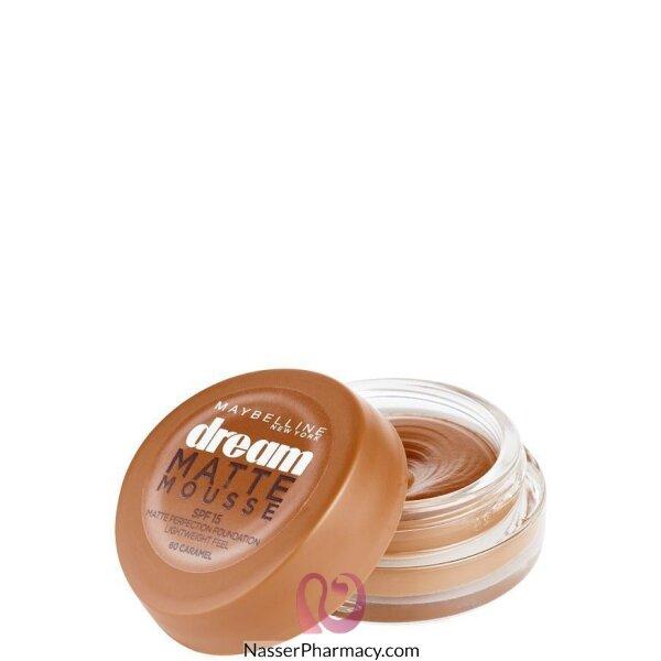 Maybelline Dream Liquid Mousse Foundation- Caramel 60