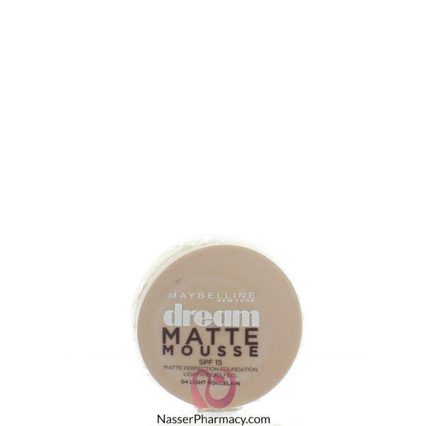Maybelline Dream Liquid Mousse Foundation-porcelain 04