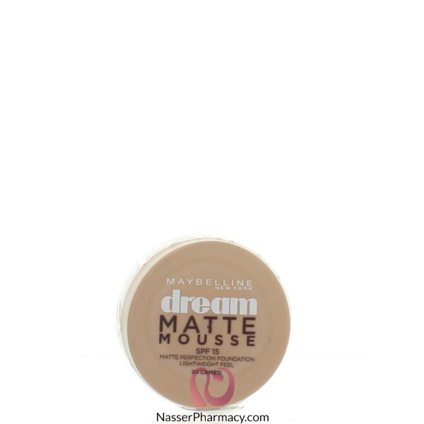 Maybelline Dream Matte Mousse  Foundation-cameo 20