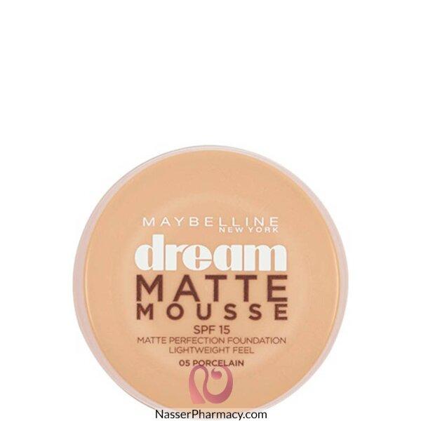 Maybelline Dream Matte Mousse Foundation - Porcelain 05