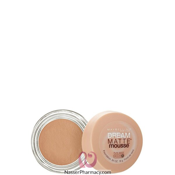Maybelline Dream Matte Mousse Foundation Pure Beige 70