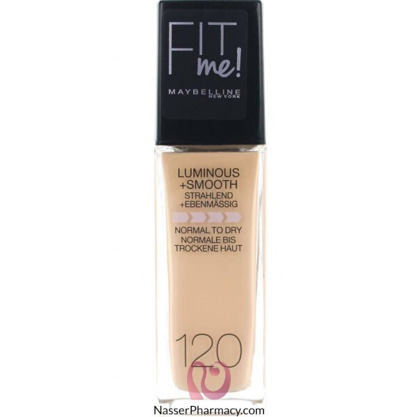Maybelline Foundation Fit Me -120