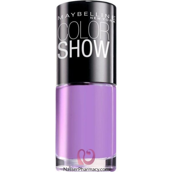 Maybelline Nail Polish Color Show  18 Vinyl Orchid