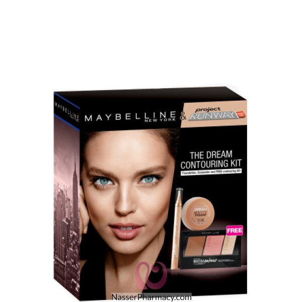 Maybelline New York Contour Dream Matte 21 Lumi 01 Coffret
